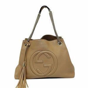 3b93018b66b0bd Women Gucci Soho Leather Shoulder Bag on Poshmark
